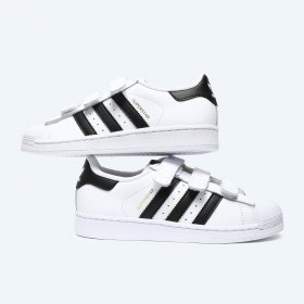 B26070, Superstar, Foundation, Kids, Sneakers, White