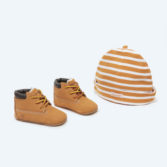 Timberland - Crib Booties w/ Hat